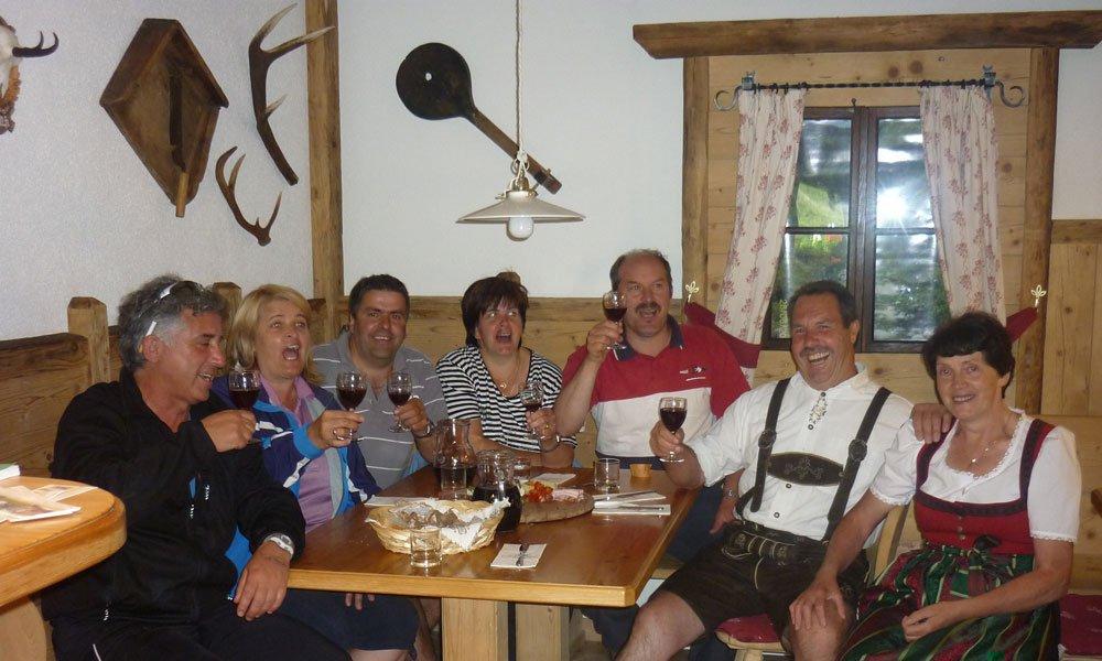 Familienfeiern in der Jausenstation am Schölzhornhof